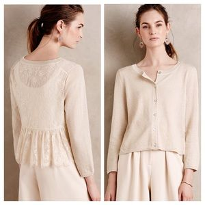 Anthropologie Knitted & Knotted Afterwood Cardigan